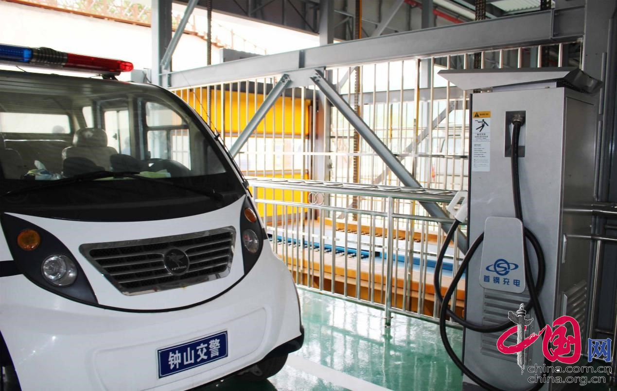 贵州省六盘水市又一新建智能立体停车库投入运营