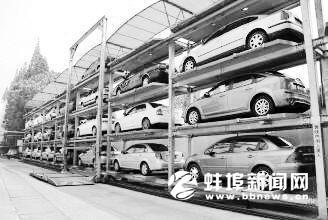 蚌埠工农路胜利路交叉口要建立体停车场